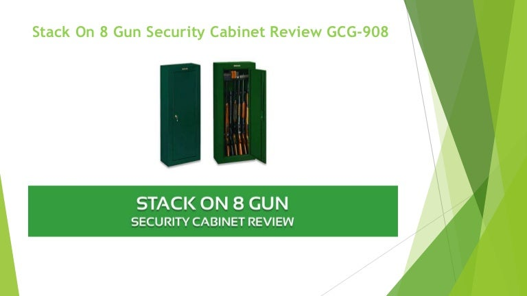 Stack on 8 gun security cabinet review gcg 908
