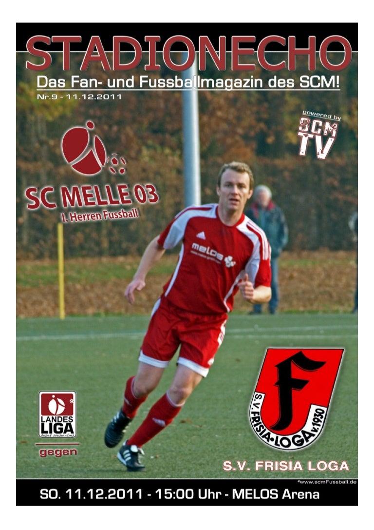 Stadionecho SC Melle 03 gegen S.V. Frisia Loga - Fussball Landesliga …