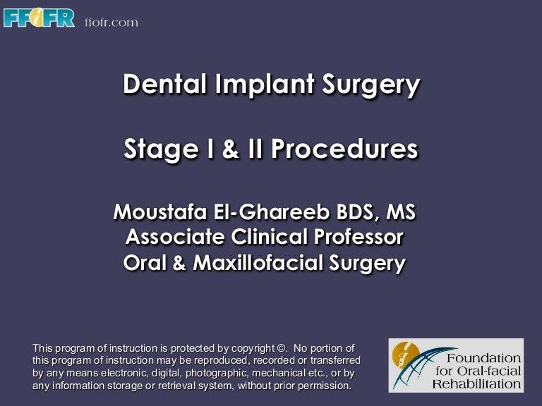 Stage I Ii Surgery