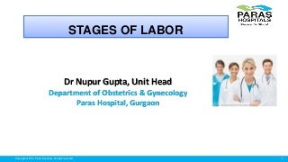 Stages of labor antenatal workshop