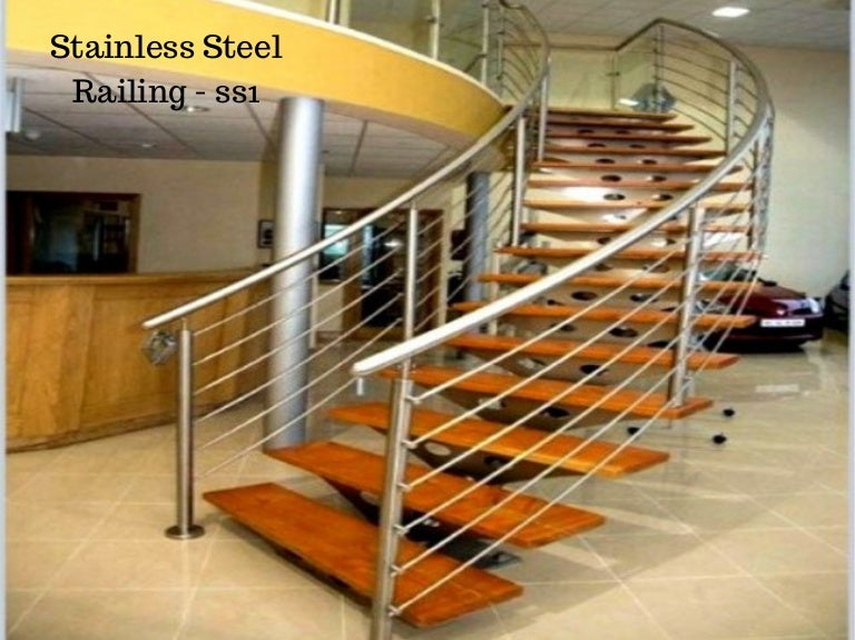 Stainless Steel Railing Design By Ak Service & food Equipment
