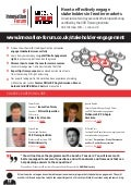 Stakeholder Engagement in Emerging/Frontier markets, October 2014, London