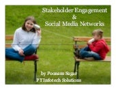 Stakeholder engagement with social media