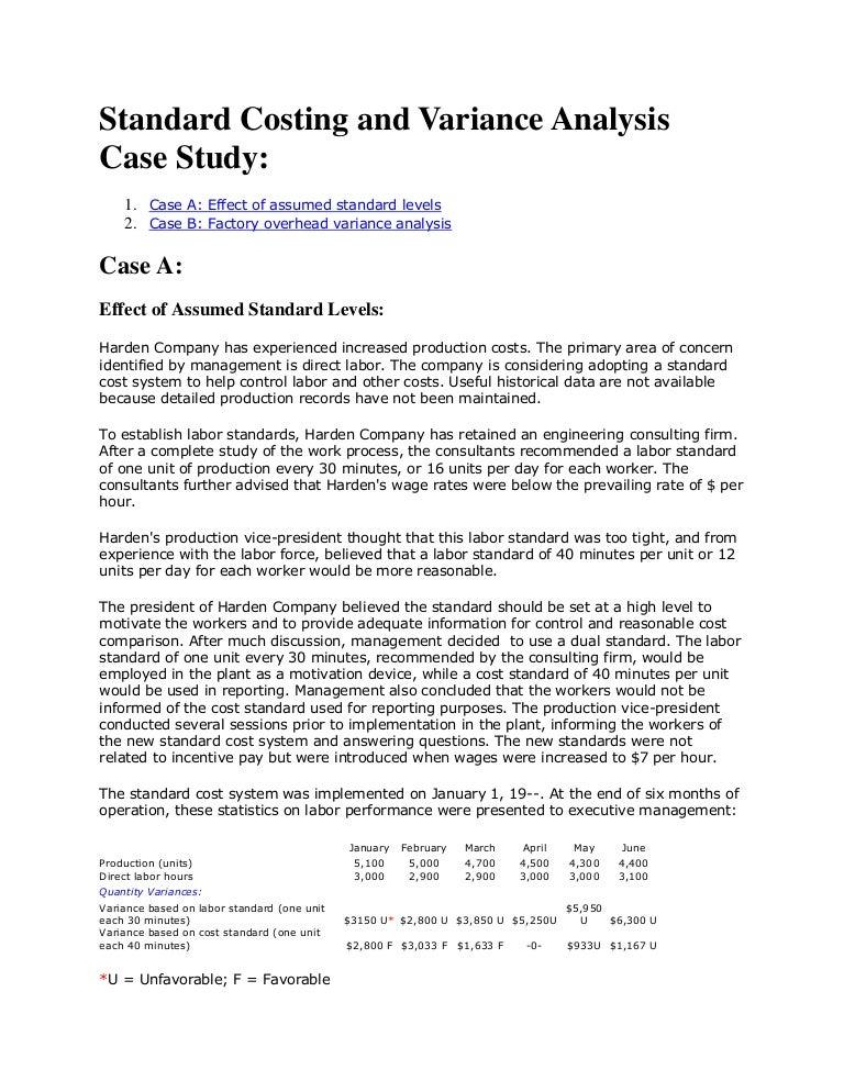 case study objective sample