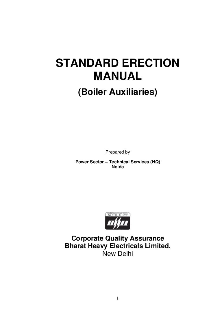 standard boiler 500 mwerection manual boiler auxiliaries rh slideshare net