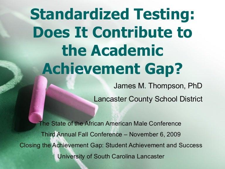 Dissertation standardized testing