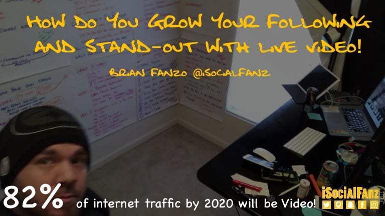 How To Grow Your Following and Stand-Out with Live Video