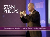 Stan Phelps Customer Experience Keynotes and Workshops Brochure