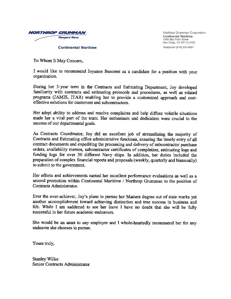 letter of recommendation from employer template thevillas co