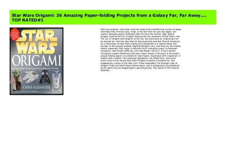 Printable instructions for E-Z Origami Yoda! | Star wars origami ... | 543x768