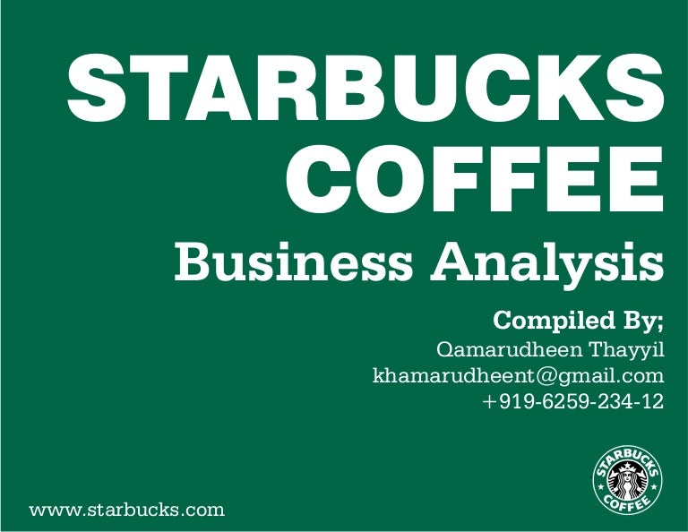 operations analysis starbucks Starbucks is often touted as having an excellent social strategy, so it's  however  the two companies operate vastly different social strategies.