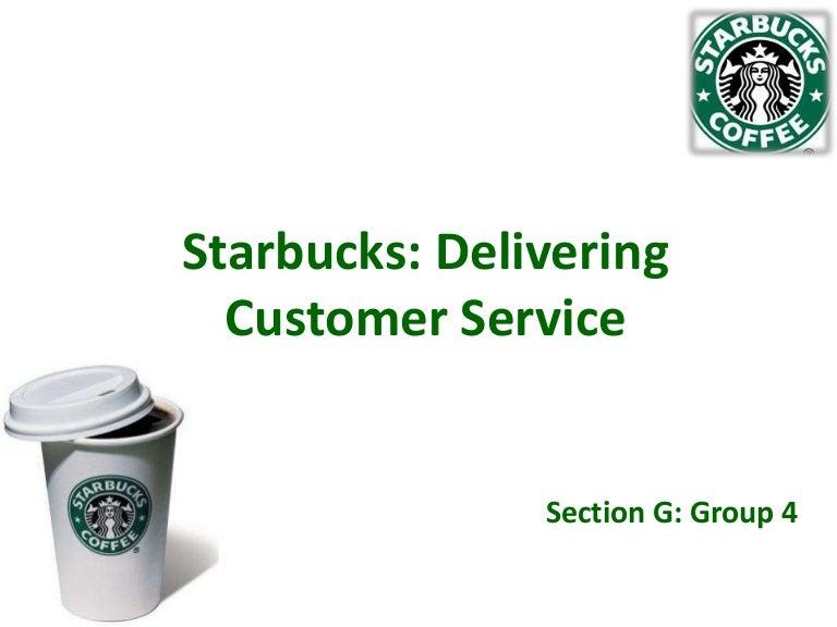 starbucks delivering customer service harvard case