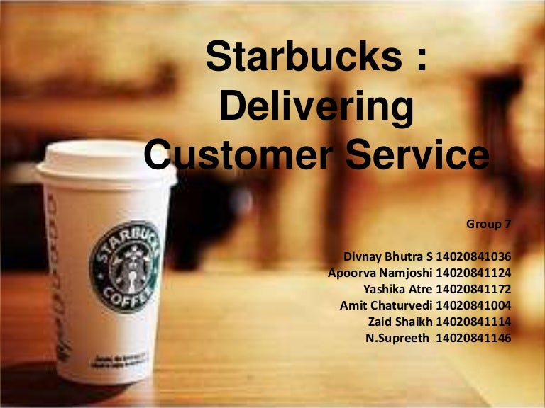 starbucks final ppt