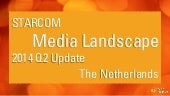 Dutch media landscape 2014 Q2 update by Starcom
