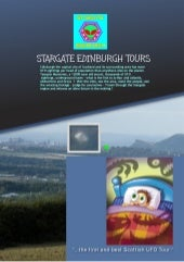 Stargate Edinburgh Tours Brochure