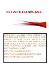 STARiGLOCAL- Enjoy Your Vacation With Affordable Tour Packages