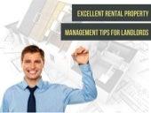 Excellent Rental Property Management Tips for Landlords