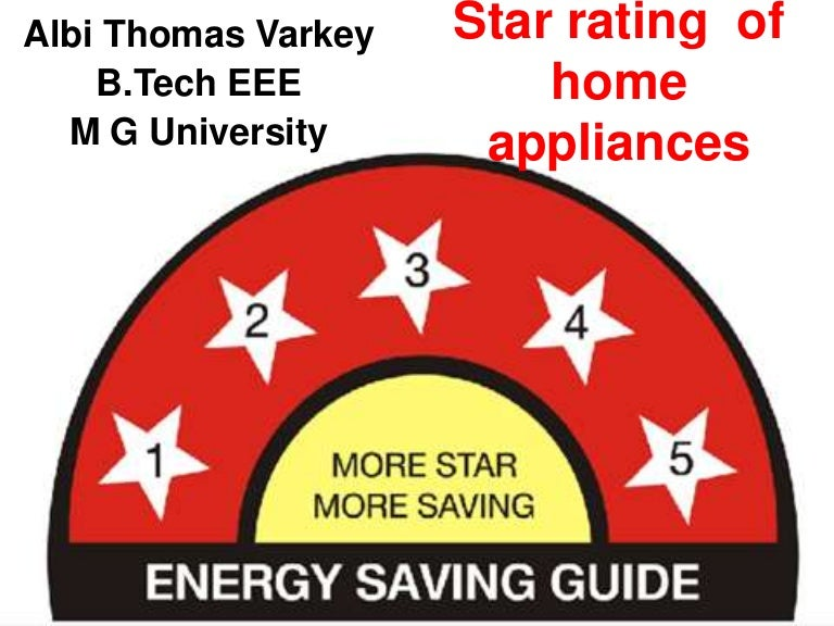 star rating of home appliances rh slideshare net Five Star 48 Gas Range Five Star Stoves Parts