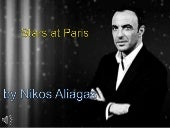 Stars at paris by the nikos aliagas (v.m.)