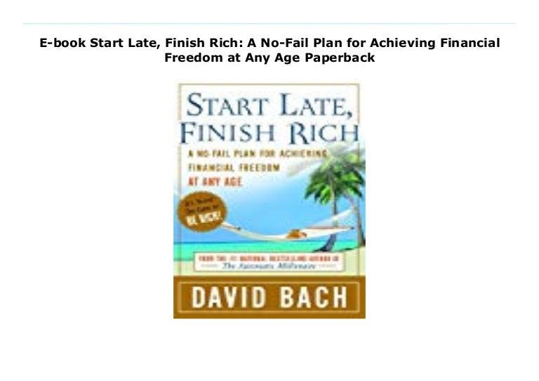 Start Late, Finish Rich PDF Free Download