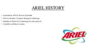 Ariel vs Surf excel Brand comparison.