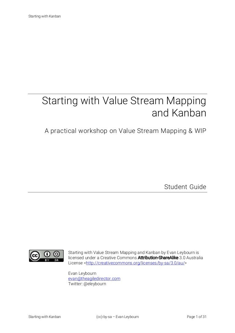 Starting With Kanban A Practical Workshop On Value Stream Mapping Process Flow Diagram Vs Map