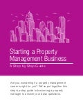Starting a Property Management Business: A Step by Step Guide