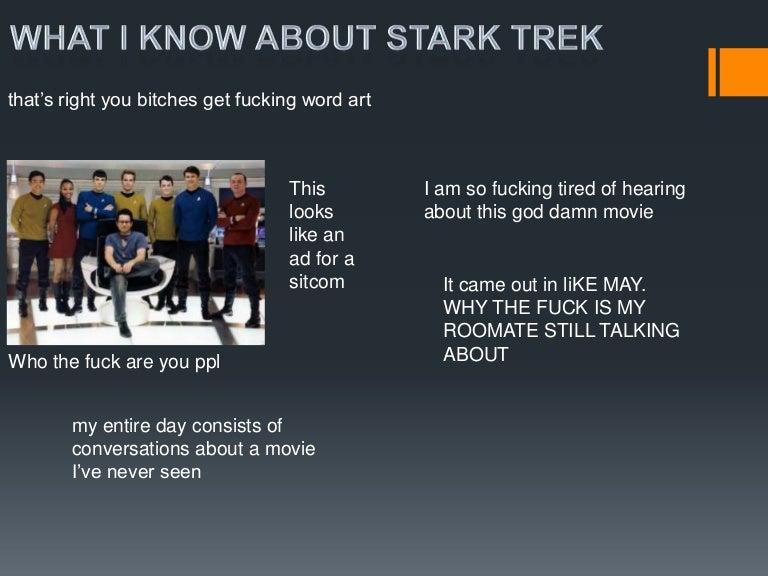 star trek ppt, Presentation templates