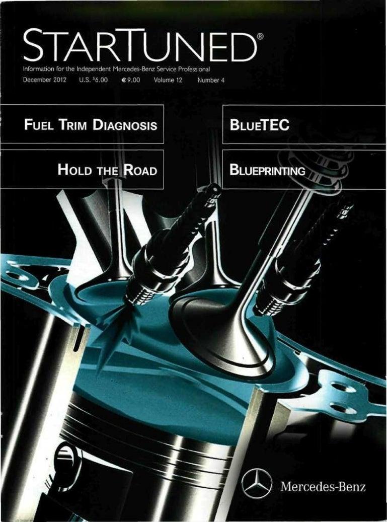 Startuned Magazine December 2012 1993 Mercedesbenz 400sel Engine Wiring Harness Genuine