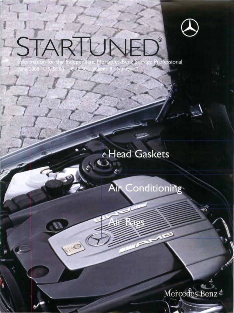 Star Tuned Magazine June 2008 1994 Mercedesbenz E420 Engine Wiring Harness Genuine