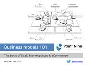Business Model 101: The Basics of Marketplaces, SaaS & Ecommerce [reduced]