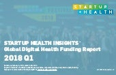 StartUp Health Insights Global Digital Health Funding Report Q1 2018
