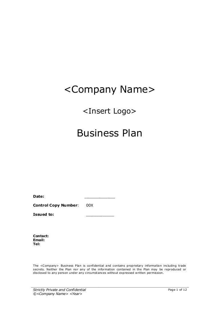 copy sample business plan