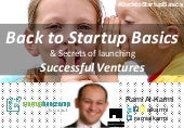 Startup istanbul back to startup basics pre accelrator session 1 by ramialkarmi