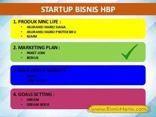 Startup Marketing Plan - Bisnis HARIO