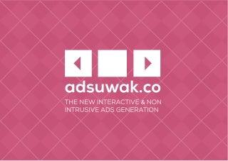 Adsuwak-Proyecto Startup Weekend Valencia 2014