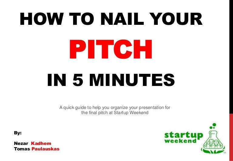 elevator pitch presentation ppt