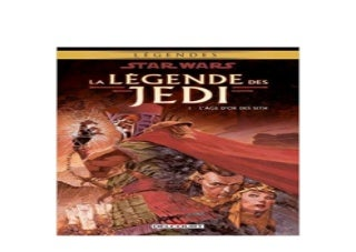 [R.E.A.D] LIBRARY Star Wars la lagende des Jedi Tome 1 French Edition ^^Full_Books^^