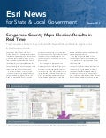 Esri News for State and Local Government -- Summer 2012