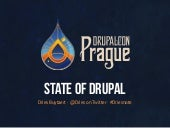 State of Drupal keynote, DrupalCon Prague