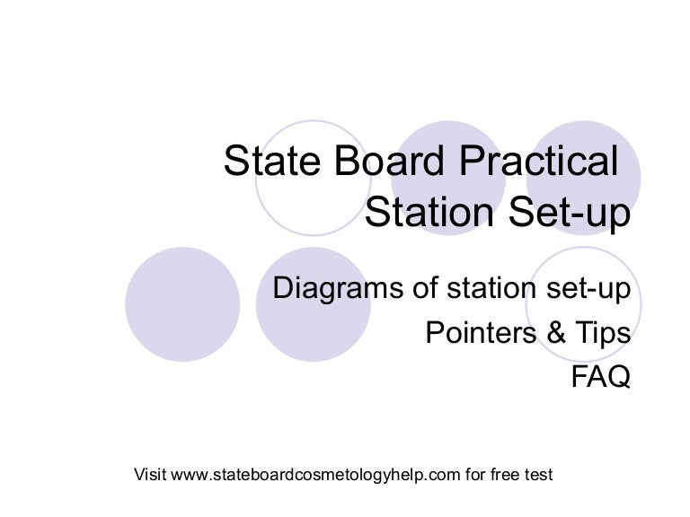 State Board Practical Set-up