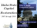 State Capitol Restoration