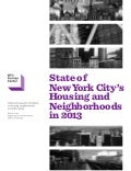 State of New York City's Housing and Neighborhoods in 2013