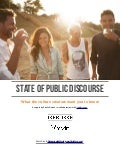 State of public discourse: What the culture creators want you to know