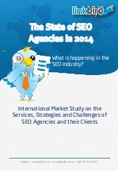 The State of SEO Agencies 2014 - A Market Research Report