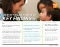 Key Findings – 2012 State of the Safety Net