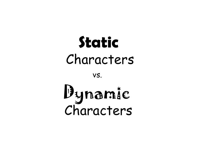 static character example
