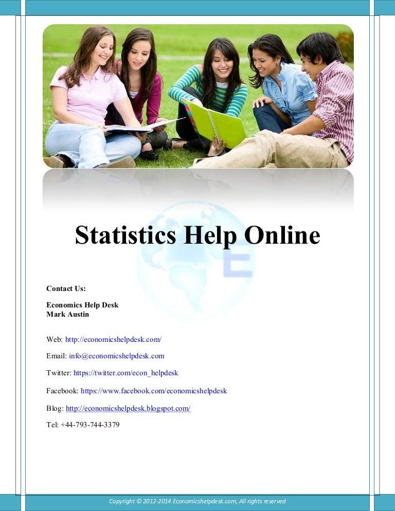 statistics help online