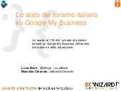 Lo stato del turismo italiano su Google My Business Local (2014)
