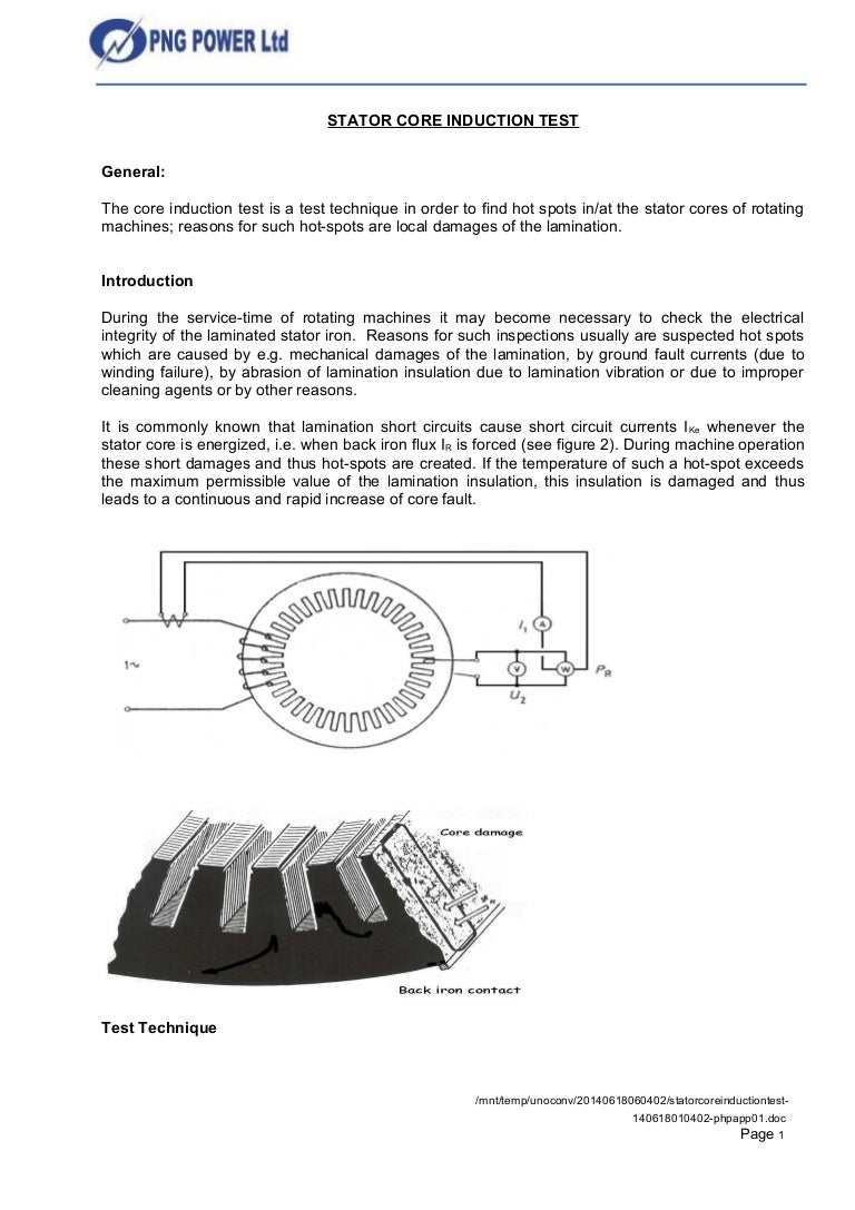 Stator Core Induction Test How To Find Short Circuit Statorcoreinductiontest 140618010402 Phpapp01 Thumbnail 4cb1403053753